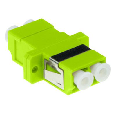 ACT Fiber optic LC-LC duplex adapter multimode OM5
