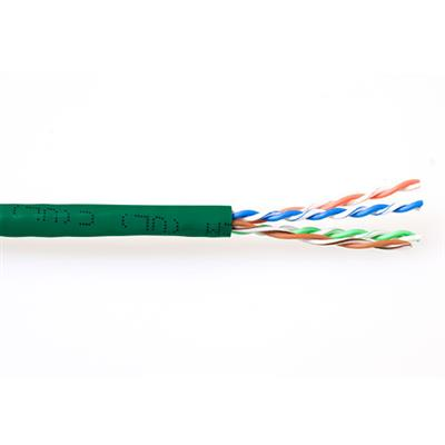 ACT CAT6 U/UTP stranded patch green 305 m