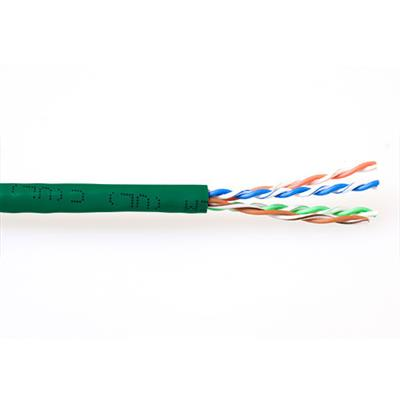 ACT CAT6A U/UTP PVC patch 305 m green