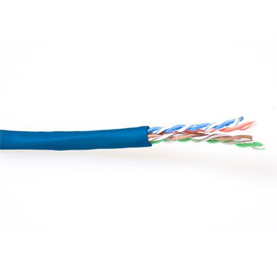 ACT CAT6 U/UTP stranded patch blue 100 m