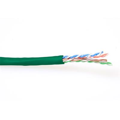 ACT CAT6 U/UTP stranded patch green 100 m