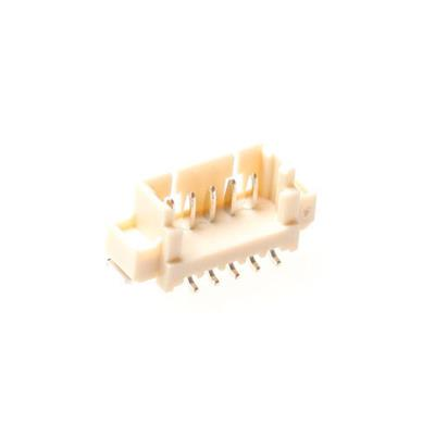 MPE-Garry 427-1-004-0-T-KS0 4 pole PCB wire to board male socket with 1.25mm raster