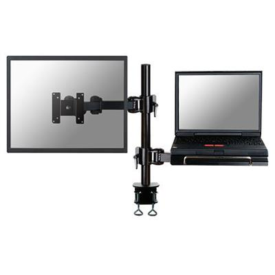 Newstar FPMA-D960NOTEBOOK Monitor desk mount for  screen ans 1 notebook up to 27 inches, black