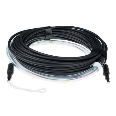 ACT 10 meter Singlemode 9/125 OS2 indoor/outdoor cable 4 way with LC connectors