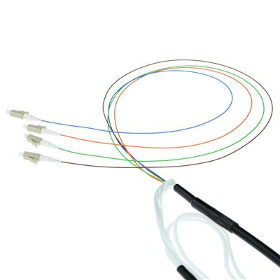 ACT 300 meter Singlemode 9/125 OS2 indoor/outdoor cable 4 way with LC connectors