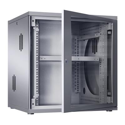 Rittal 7507.020 Wall enclosure flatbox 19 inch, 12 U, 60 cm wide, 63 cm high, 40 cm depth