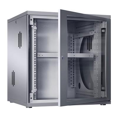 Rittal 7507.210 Wall enclosure flatbox 19 inch, 18 U, 70 cm wide, 89 cm high, 70 cm depth