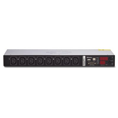 Raritan PX2-2190CR PDU 1 phase 230V, 16A, IEC60320-C20 to 8x C13, unit metered and switched, 3 meter