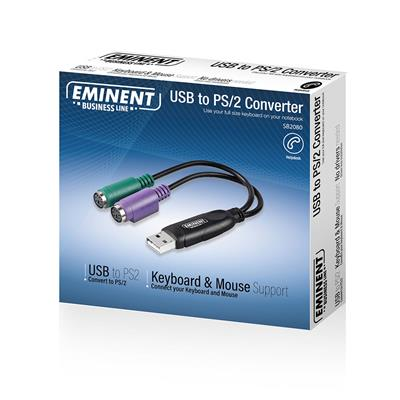 Eminent USB 2.0 to 2x PS/2